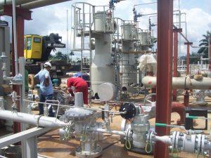 Gas Treatment Plant Modules Installation