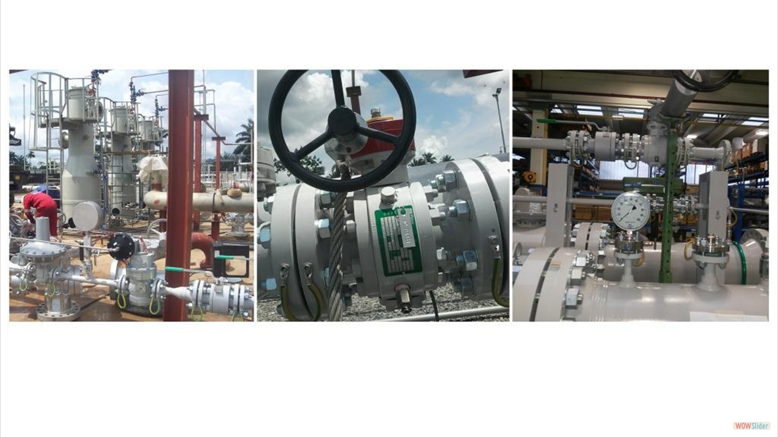 Ball Valve Assemblage, Gas Treatment Plant Module Installation