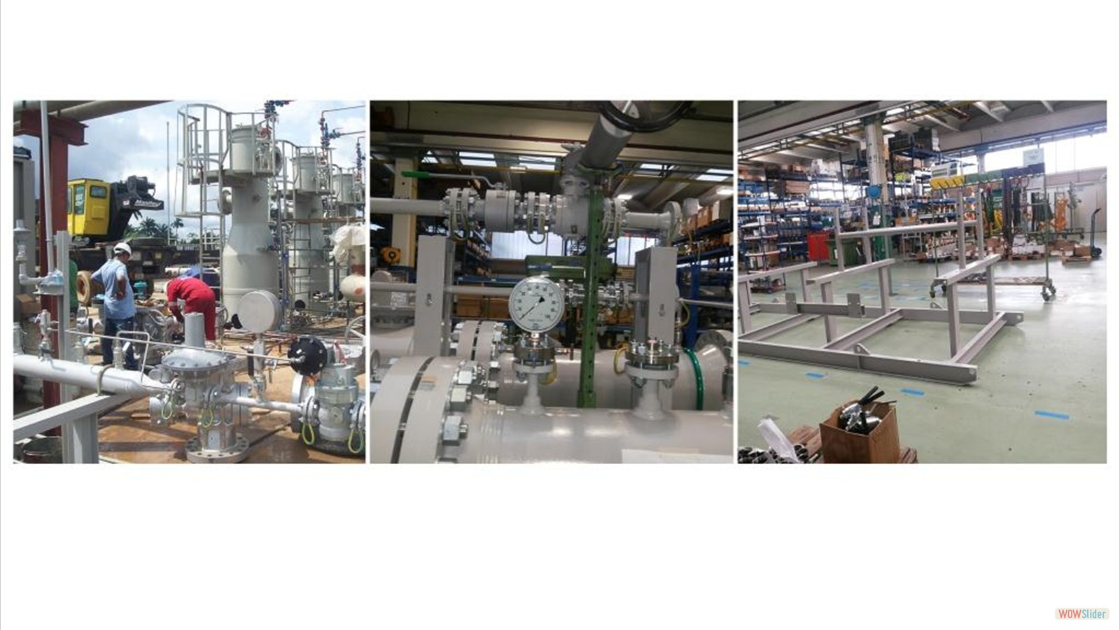Process Equipment Assemblage and Installation